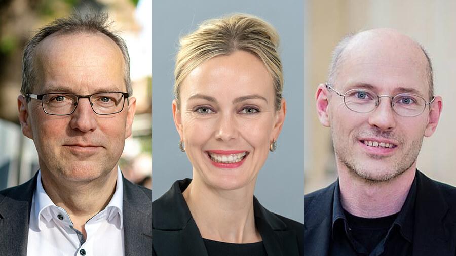 Politik-Talk mit Dr. Manja Schreiner [CDU], Andreas Otto [Bündnis90/Die Grünen], Dr. Michael Efler [DIE LINKE]