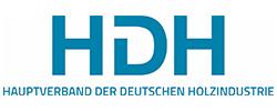 Hauptverband der Deutschen Holz und Kunststoffe verarbeitenden Industrie und verwandter Industriezweige e.V - Logo